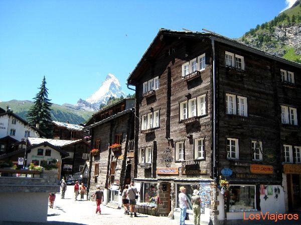 Matterhorn, Zermatt - Suiza Matterhorn, Zermatt - Switzerland
