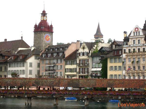 Luzern - Switzerland La ciudad de Lucerna - Suiza