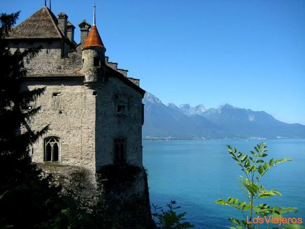 Castillo de Chillon - Suiza Chillon Castle - Switzerland