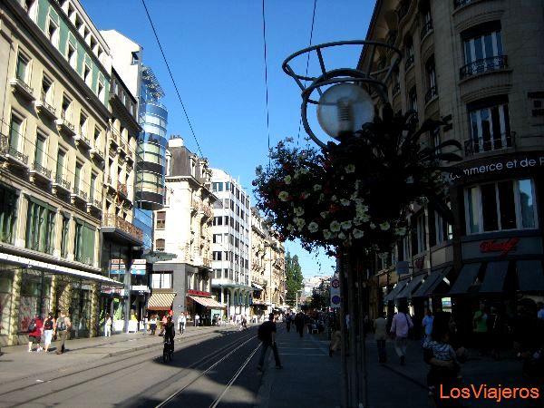Geneva Streets - Switzerland Calles de Ginebra - Suiza