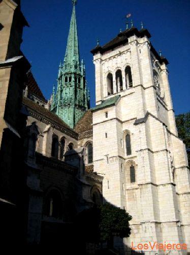 Geneva - Switzerland Catedral de San Pedro -Ginebra - Suiza
