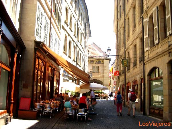 Geneva city center - Switzerland Centro de Ginebra - Suiza