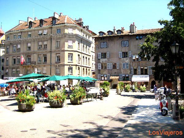 Plaza Bourg-de-Fou - Ginebra - Suiza