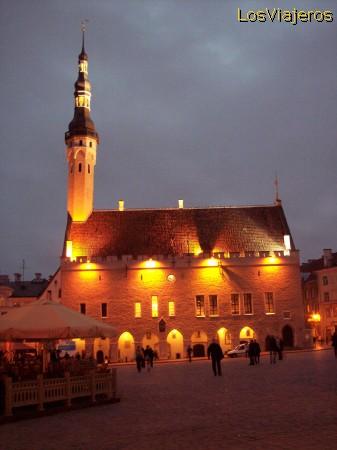El Ayuntamiento de Tallin - Estonia Tallinn's Gothic Town Hall - Estonia