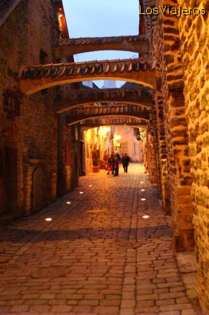 Pasaje de Santa Catalina - Tallin - Estonia St. Catherine's Passage - Tallinn - Estonia
