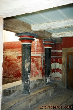 Palace of Knossos-Crete-Greece Palacio de Knossos-Creta-Grecia