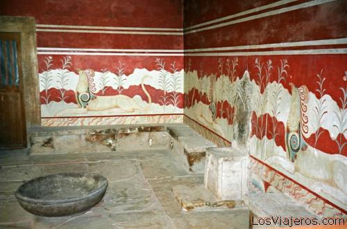 Creta-Palacio de Knossos-Grecia