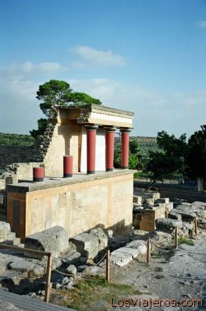 Creta-Palacio de Knossos-Grecia Crete-Palace of Knossos-Greece