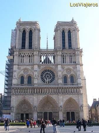 Notre Dame Cathedral - Paris - France Catedral de Notre Dame - Paris - Francia