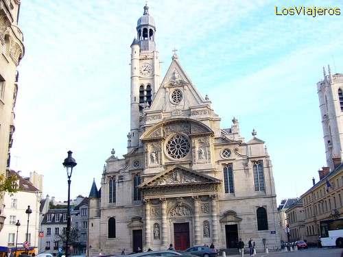 Iglesia Saint Étienne du Mont -Paris- Francia Église Saint Étienne du Mont - Paris - France