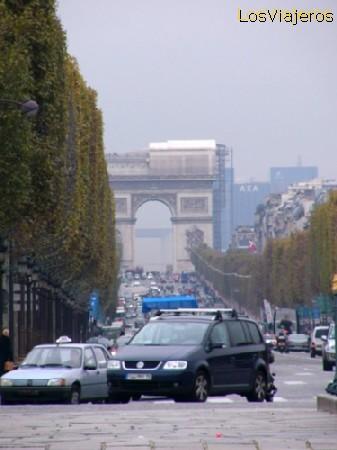 Avenue des Champs Élisées - France Avenida de los Campos Elíseos - Francia