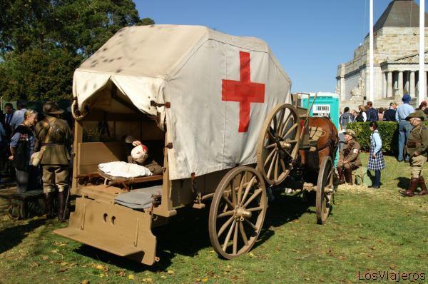 Ambulancia de la Primera Guerra Mundial -Melbourne- Australia