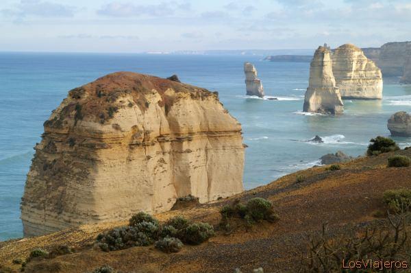 The Twelve Apostles -Victoria- Australia Los Doce Apostoles -Victoria- Australia
