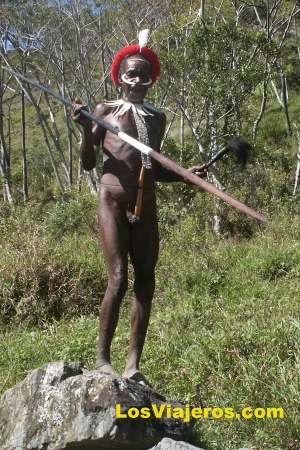Ceremonia del Cerdo - Kilise - Valle Baliem - Papúa Nueva Guinea - Indonesia