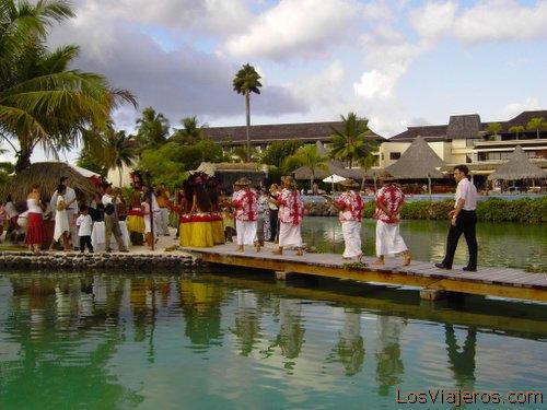 Polynesia wedding - Oceania Boda Polinesia - Oceania