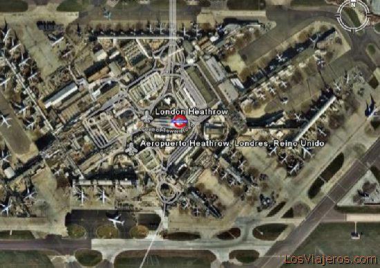 Aeropuerto Londres-Heathrow - Reino Unido - Global London-Heathrow Airport - United Kingdon - Global