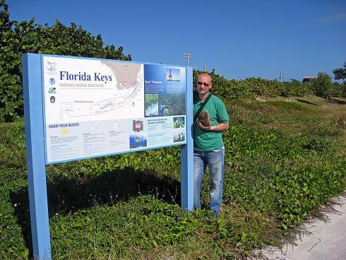 Paco, Ilusionado - Global Paco ha preparado nuestra galeria de Florida. Aqui esta Paco en Los Cayos. - Global