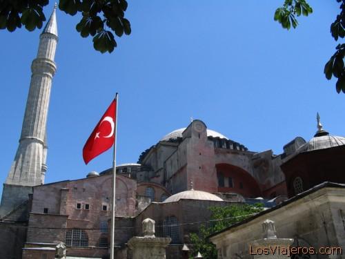 Santa Sofía - Estambul - TURKIA  - Asia St Sofia - Istanbul - Turkise  - Asia