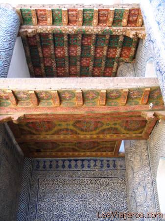 Tosh-Kohovli Palace (Stone House)-Khiva-Uzbekistan - Asia Palacio de Thosh-khovli (Casa de Piedra)-Khiva-Uzbekistan - Asia