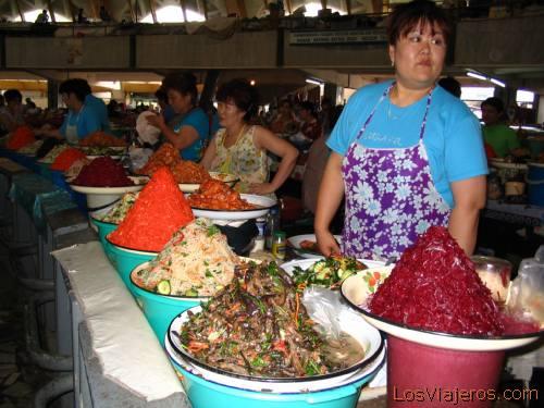 Chorsu bazar -Tashkent-Uzbekistan - Asia Mercado Chorsuv -Tashkent-Uzbekistan - Asia